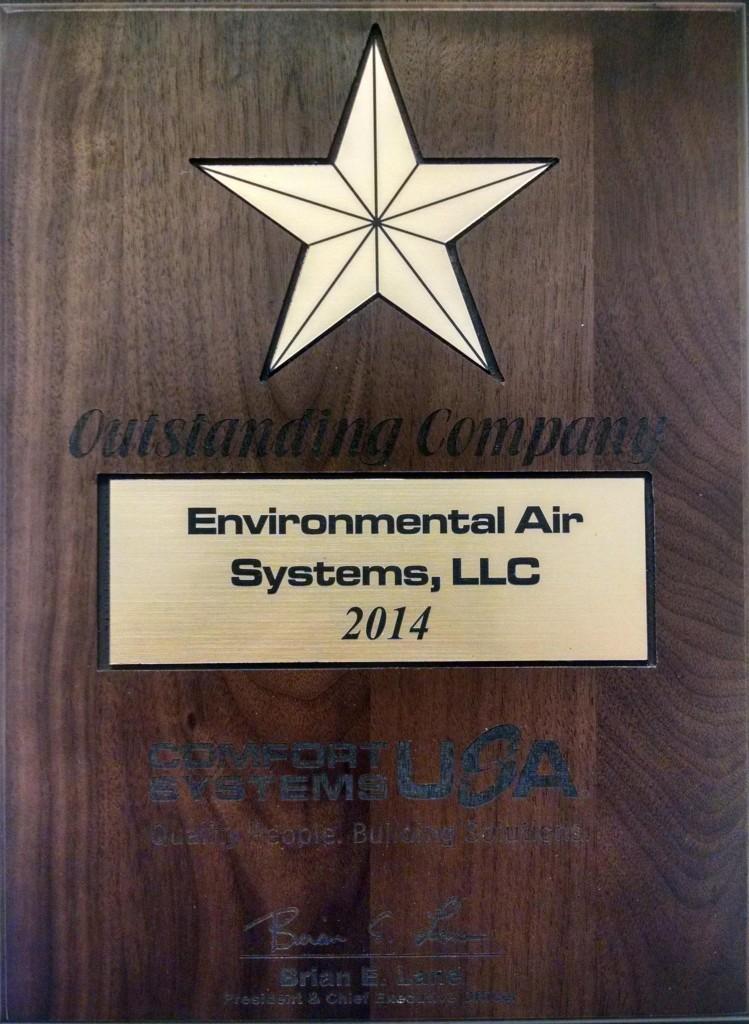 2014 CSUSA Outstanding Company Award
